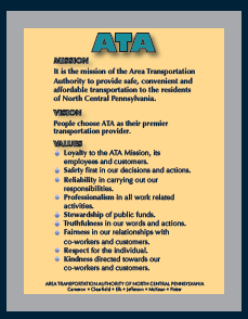 ATA Mission Statement Art