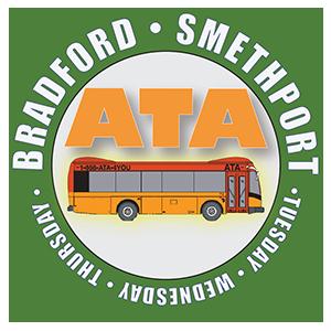 Bradford Smethport Fixed Route Logo