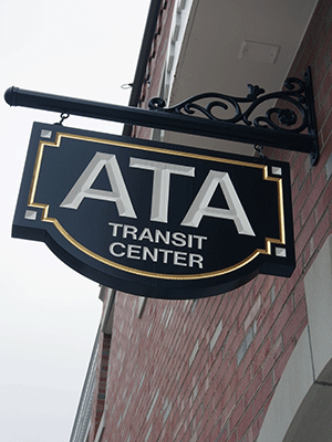 ATA Transit Center Entrance
