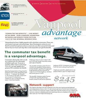 Commuter Benefit Flyer Cover