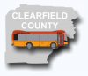 Clearfield County CAB BUS Zones